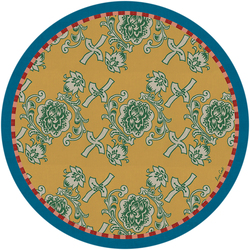 PLACEMAT FLORENCE GOLD diam. 34 cm with cork