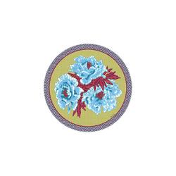 BEVERAGE COASTER BLUE GARDEN CHUTNEY DIAMETER 9,5cm