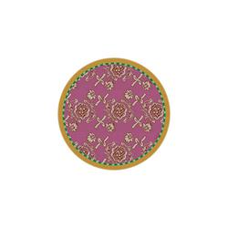 BEVERAGE COASTER FLORENCE PINK DIAMETER 9,5cm