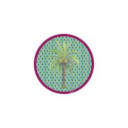 COASTER--HIMA PALMA GREEN