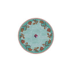 BEVERAGE COASTER RASMALAY JADE DIAMETER 9,5cm