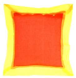 PILLOW COVER 45X45cm ORANGE YELLOW