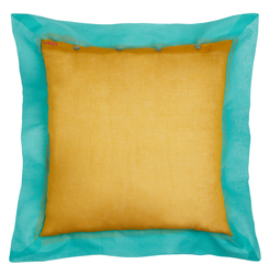 PILLOW COVER 60X60cm MUSTARD VERONESE