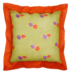 PILLOW COVER 60X60cm CHINA DULL GREEN