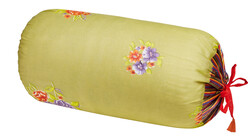 PILLOW PALOMA BOLSTER COVER GHIRLANDA ACID GREEN