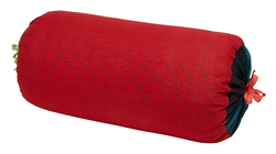 PILLOW PALOMA BOLSTER COVER SUSY STRIPES RED