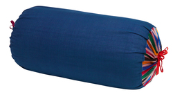 PILLOW PALOMA BOLSTER COVER SUSY STRIPES BLUE