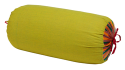 PILLOW PALOMA BOLSTER COVER SUSY STRIPES ACID GREEN
