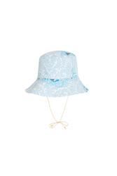 REVERSIBLE BILLY HAT --BLUE GARDEN BLUE
