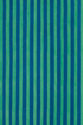 FABRIC--STRIPES BLUE GREEN